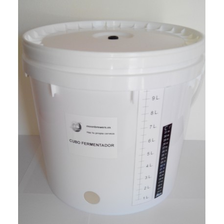 Moonbrewers. Cubo de 10 L. Fermentador