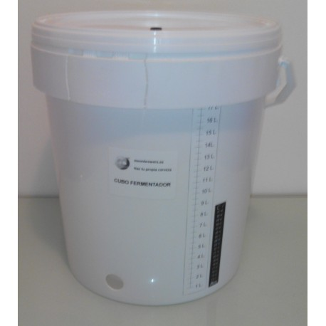 Moonbrewers. Cubo de 20 L. Fermentador